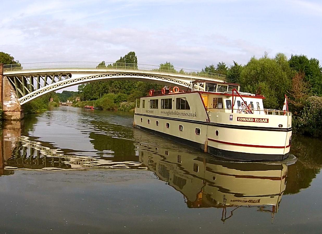 Elgar passes Holt Bridge